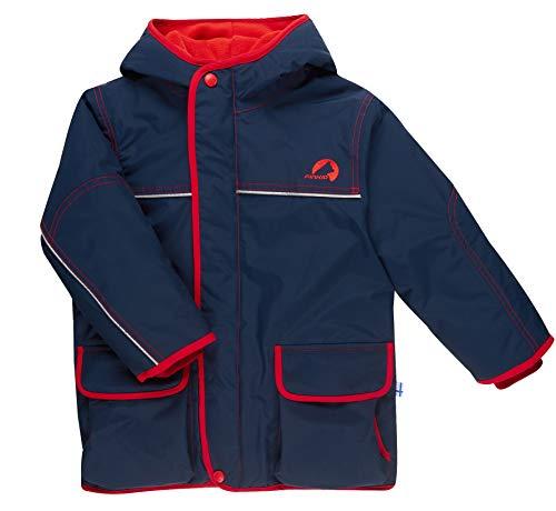 Finkid Talvi Blau, Kinder Jacke, Größe 130-140 - Farbe Navy - Red