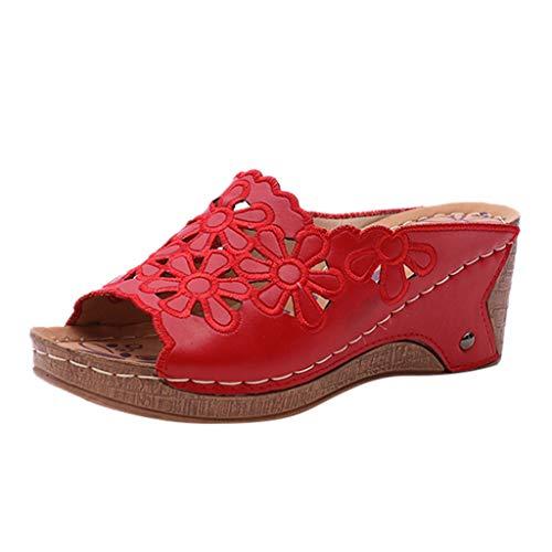 tongs sandales plates tongs chausson chaussette reef aqualung mule confort chaussons sabot 32 plastique enfant chausson fille sabot(rouge,38)
