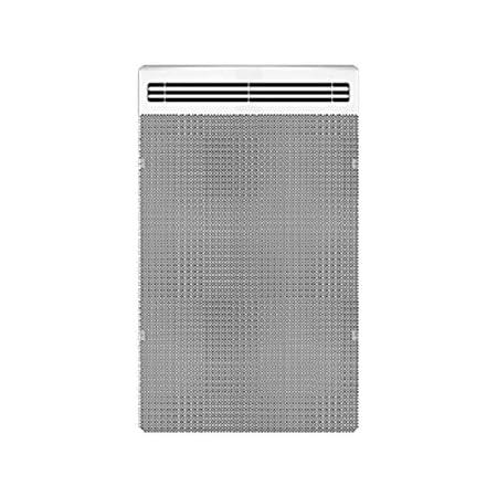 applimo 0011495fd blanc applimo quarto d+ vertical 1500 watts radiateur rayonnant
