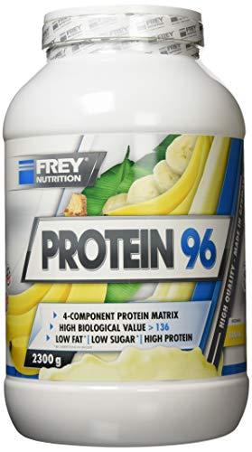 Frey Nutrition Protein 96 Banane Dose, 1er Pack (1 x 2.3 kg)