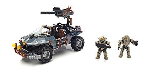 Mattel Mega Bloks DPJ92 Halo UNSC Dual Mode Warthog, BAU und Konstruktionsspielzeug