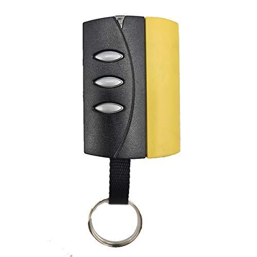 PUJOL VARIO P2153 Mando Garaje Frecuencia 433MHz 3 Botones Tapa Amarilla