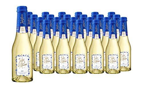 Jules Mumm Medium Dry und Jules Mumm Dry, Sekt-Set (Jules Mumm Dry 24 Flasche a 0,2 Liter)