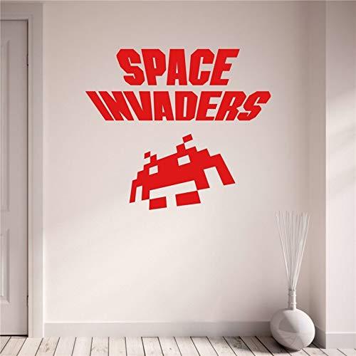 BailongXiao Gamer Space elektronische Raum Wandtattoos abnehmbare Vinyl Kinderzimmer Kinderzimmer Wandaufkleber