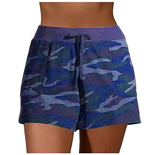 POTOU Anzughosen Hosen Elegant Frauen Freizeithosen Kurz Hosenrock Damen Kurz Blaue Stoffhose Damen Weisse Hosen Damen Berufskleidung Jeans Jogginghose Damen