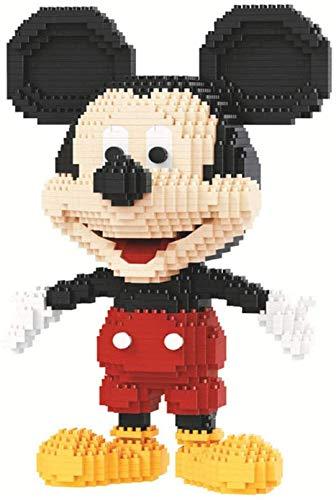 RSVT Mini Bloques Mickey Mouse 3D Modelo 1831Pcs + Kit De Construcción De Ladrillos Nano para Niños Niño