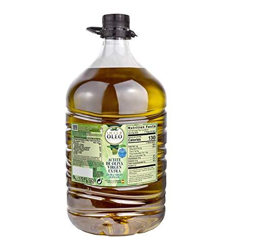 InterOleo Aceite de Oliva Virgen Extra de Jaén. Aceite de oliva Picual. Sabor Equilibrado, Extracción en Frío - Alta calidad (5 Litros)