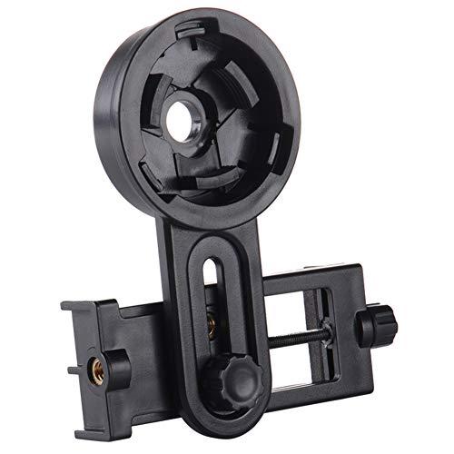 lzndeal - Soporte Universal de Clip de Montaje rápido, Adaptador de fotografía de teléfono móvil para telescopio Binocular