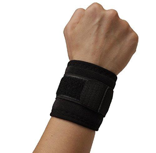 Selbstwärmende Handgelenk-Bandage Gelenk-Schoner für Damen & Herren bei Sehnenscheidenentzündung Schmerzen & Überlastung mit Klettverschluss