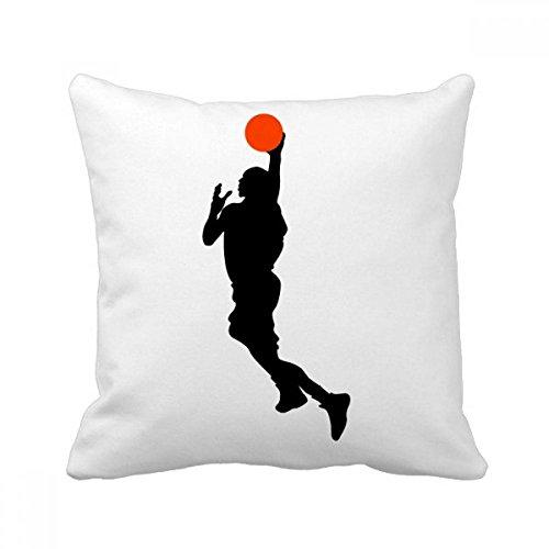 DIYthinker Capa de almofada para sofá de dormir com jogador de basquete Sports Slam Dunk