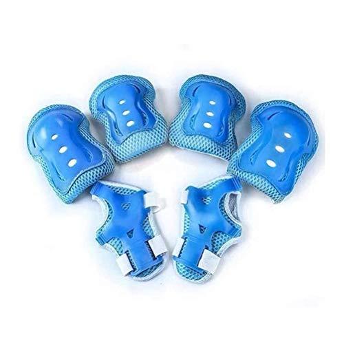 QXF-D Niños Deportes De Protección Gear Set - Rodillo Protector, Rodilleras, Coderas...