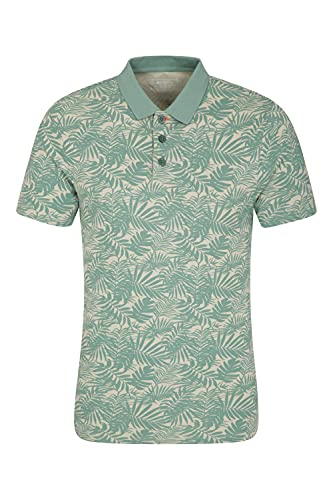 Mountain Warehouse YDE ORGANIC PRINTED SLIM FIT POLO