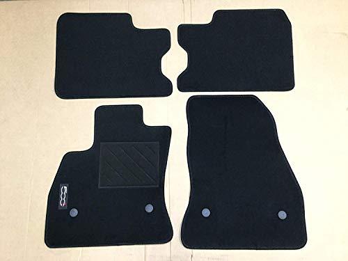 Fiat Fußmatten Teppiche Schwarz Original 500L