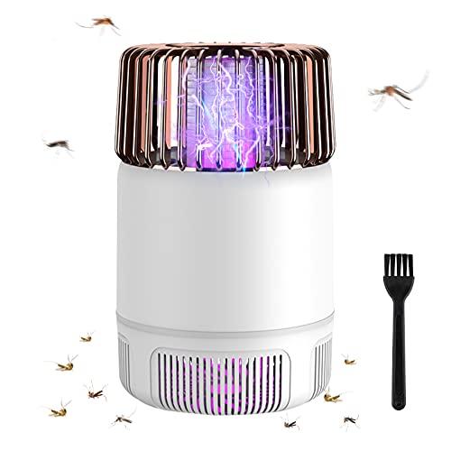Lampada Antizanzare Elettrica, yotame Zanzariera Elettrica Luce LED USB Ricaricabile Mosquito Killer Lamp Anti Insetti per Camera da Letto, Soggiorno, Cucina, Ufficio