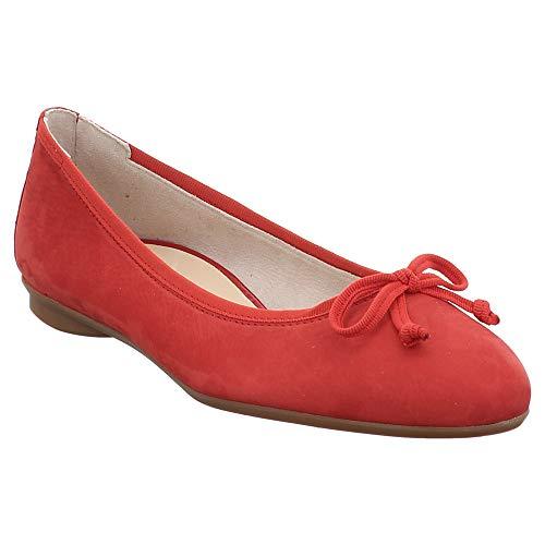Paul Green | Soft Ballerina - rot | red, Farbe:rot, Größe:39