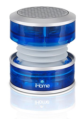 Best Price! iHome iM60LT Rechargeable Mini Speaker - Blue