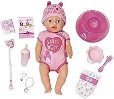 "Zapf Creation 824368"" Baby Born Soft Touch Girl Blue Eyes pop, kleurrijk"
