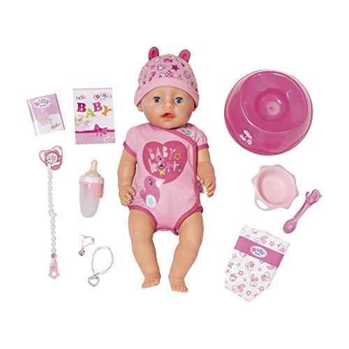 Baby Born Soft Touch Girl 43cm - Muñecas (Rosa, Femenino, Chica, 3 año(s), 430 mm, 330 mm)