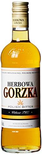 Polmos Wroclaw Herbowa Gorzka Wodka aus Polen (1 x 0.5 l)