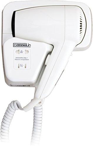 Casselin CSC1 - Sèche-cheveux avec prise rasoir