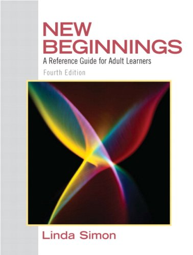 New Beginnings: A Reference Guide for Adult Learners (4th Edition)