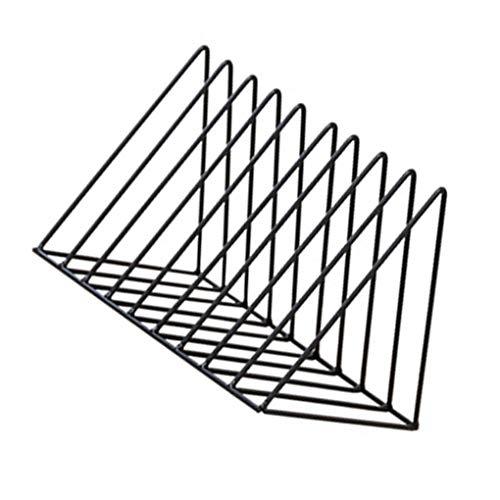 Pegcduu Triangular de Hierro Libro estantes de Almacenamiento de Escritorio estantes del...