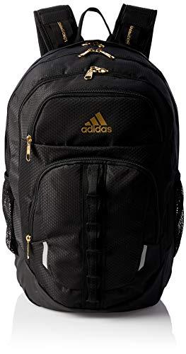 adidas Prime Rucksack, Unisex-Erwachsene, Prime, Rucksack, 977613, Schwarz/Gold Lurex V5, Einheitsgröße