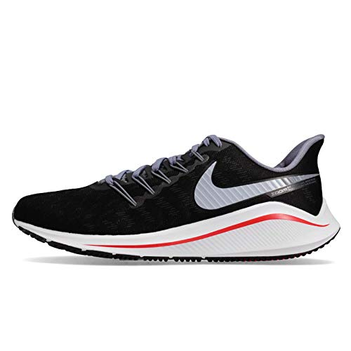 Nike Air Zoom Vomero 14 Mens Running Shoes Black/Bright Crimson/Armory Blue/Obsidian Mist 13 M US