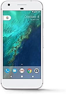 "Google Pixel (32GB, 4GB RAM) 5.0"" Display, Snapdragon 821, Single SIM GSM Factory Unlocked, US & Global 4G LTE International Version - G-2PW4200 (Very Silver)"