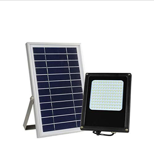 Projecteur solaire 120 LED de sécurité d'extérieur étanche à induction pour jardin, cour, cour, piscine, garage, panneau d'affichage