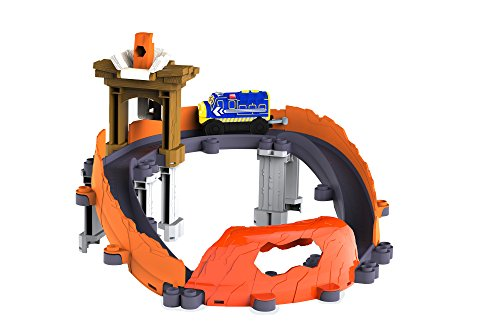 Tomy Chuggington - LC54489 - Circuit de Trains Miniatures et Rails - Circuit Motor' Bruno Gare Aux Bobos