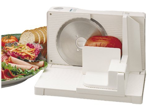 "Rival 1042-wn Electric Food Slicer 6.5"" Blade"