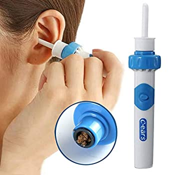 Ear Vacuum Wax Remover Ear Wax Removal Kit Ear Wax Vacuum for People of All Ages Ear Vacuum Cleaner Easy Earwax Remover Soft Prevent Ear-Pick Clean Tools Set