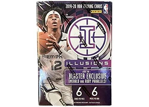 2020 Panini Illusions NBA Basketball BLASTER box (36...