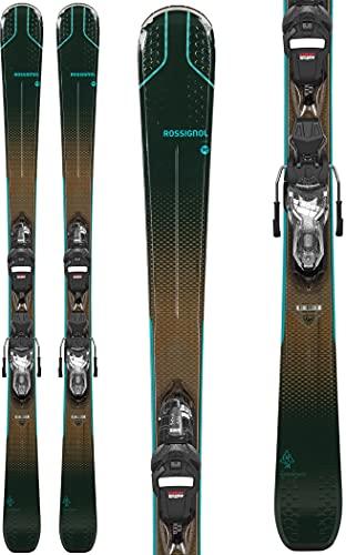 Rossignol Experience 74 W Xpress W 10 Gw Esquís con fijación, Mujeres, Marrón, 152 cm