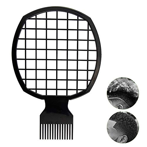 Afro Twist Comb Portable Two-In-One Hair Comb for Natural Twists Curls...