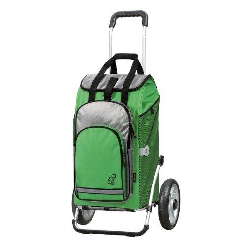 Andersen Carro de Compra Royal con Bolsa Hydro Verde, Volumen 60L, Compartimento Termico, Marco Aluminio y Ruedas con rodamiento de Bolas