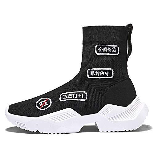 Hardlopen Schoenen Hoge Top Schoenen Vliegende Sneakers Sokken Schoenen Zomer