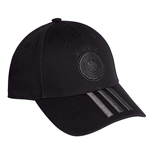 adidas DFB Germany Women Cap (OSF Women, Black)