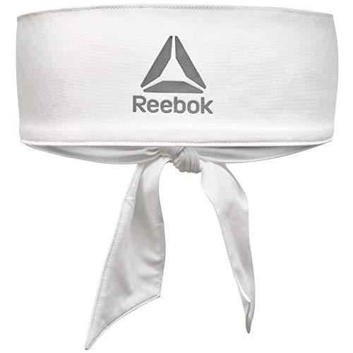 Reebok Unisex-Adult Weiß Stirnband zum Binden