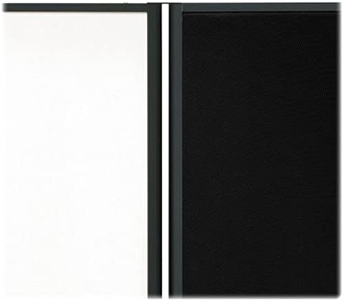 Quartet Motion Room Divider Connector Kit, noir (66C) by Quartet