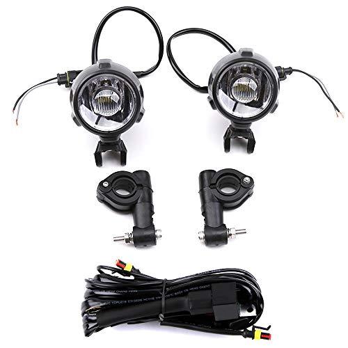 LTGJJ Motorrad Scheinwerfer LED Zusatznebelscheinwerfer Baugruppe Fernlicht Universal 40W, for BMW R1200GS / ADV / F800GS