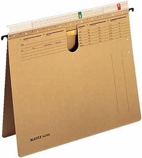 LEITZ alpha-suspension fichier Carte de couleur rouge/® CFM