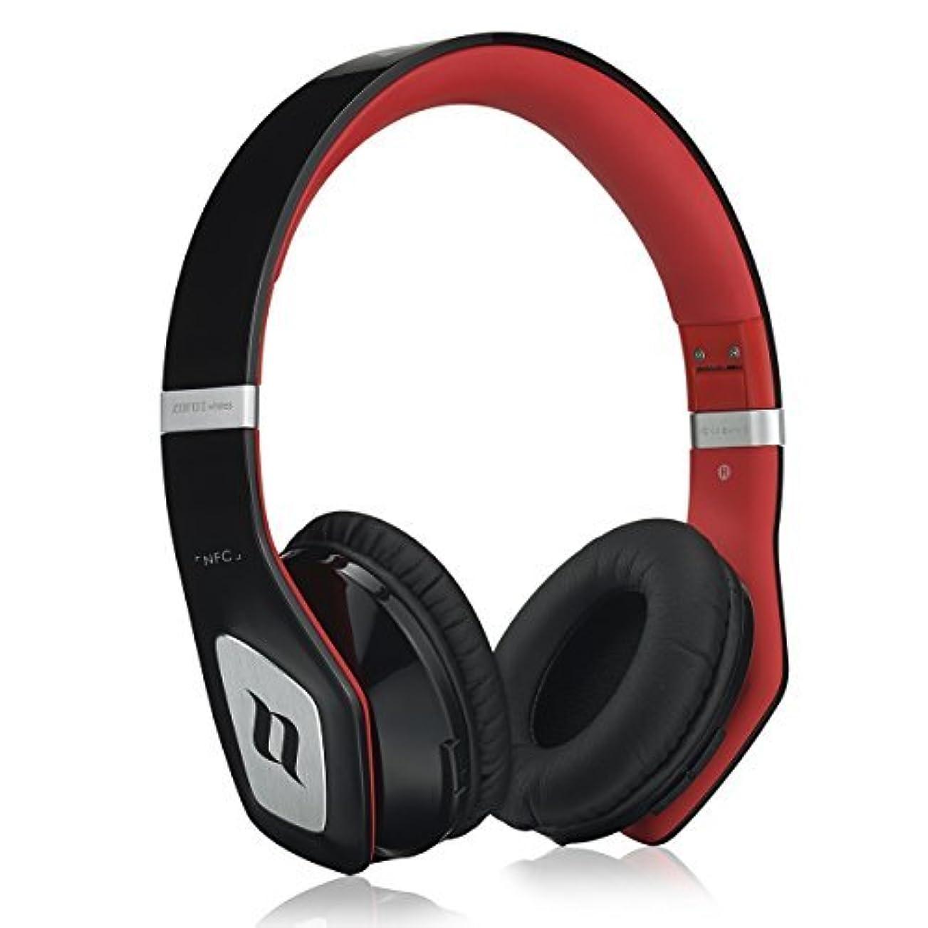 どういたしまして文芸リハーサルNOONTEC Bluetooth機能搭載 ヘッドホン/高音質ヘッドフォン/連続音声再生時間最大35時間 (黒)