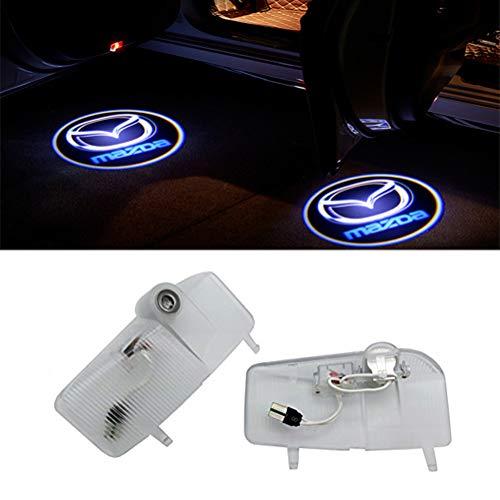 QJZoncuji 2 Stücke Autotür Licht Geist Schatten Licht Logo Projektor Türbeleuchtung
