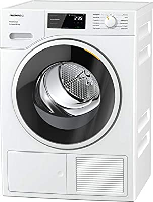 Miele TSF643WP Freestanding Heat Pump Tumble Dryer, 8kg Load, White