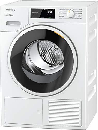 Miele TSF643WP Freestanding Heat Pump Tumble Dryer, 8kg Load, White