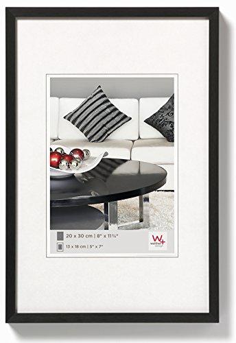 walther design AJ045B Aluminium-Bilderrahmen Chair, 45,8 x 30,7 cm, schwarz