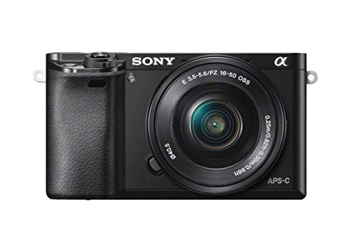 Sony Alpha a6000 Mirrorless Digitial Camera 24.3MP SLR Camera with 3.0-Inch LCD (Black) w/16-50mm Power Zoom Lens