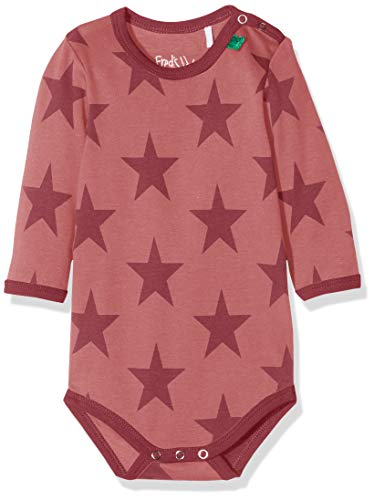 Fred'S World By Green Cotton Star Body, Rouge (Dream Rose 018143501), 86 Bébé Fille